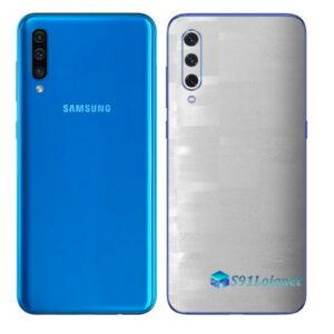 Galaxy A50 Adesivo Skin Película Tras FX Pixel Branco