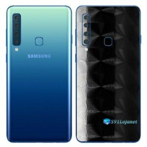 Galaxy A9 Adesivo Skin Película Traseira FX Dimension Black
