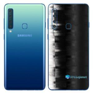 Galaxy A9 Adesivo Skin Película Traseira FX Pixel Black
