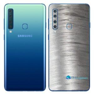Galaxy A9 Adesivo Skin Película Traseira Metal Escovado