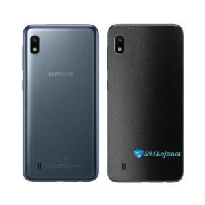 Galaxy M10 Adesivo Skin Película Tras FX Deep Black