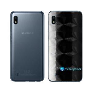 Galaxy M10 Adesivo Skin Película Tras FX Dimension Black