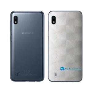 Galaxy M10 Adesivo Skin Película Tras FX Dimension Branco