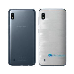 Galaxy M10 Adesivo Skin Película Tras FX Pixel Branco