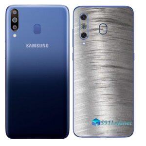 Galaxy M30 Adesivo Skin Película Tras Metal Escovado