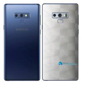 Galaxy Note9 Adesivo Skin Película Tras FX Dimension Branco