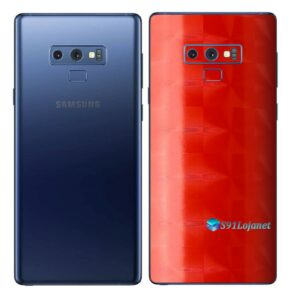Galaxy Note9 Adesivo Skin Película Tras FX Dimension Red