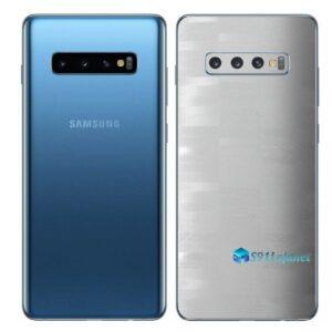 Galaxy S10+ Adesivo Skin Película Traseiro FX Pixel Branco
