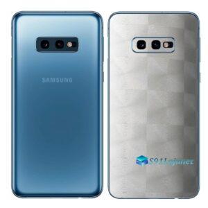 Galaxy S10e Adesivo Skin Película Tras FX Dimension Branco