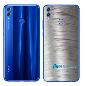 Huawei Honor 8x Adesivo Skin Película Metal Escovado