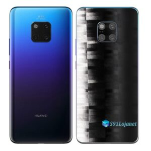 Huawei Mate 20 Pro Adesivo Skin Película FX Pixel Black