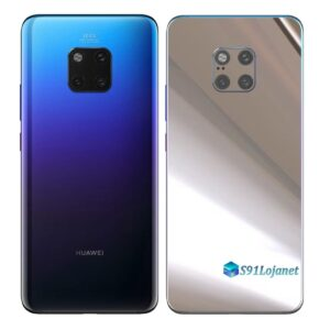 Huawei Mate 20 Pro Adesivo Skin Película Metal Cromo