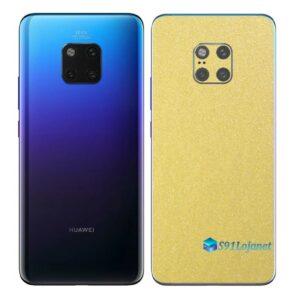 Huawei Mate 20 Pro Adesivo Skin Película Metal Dourado