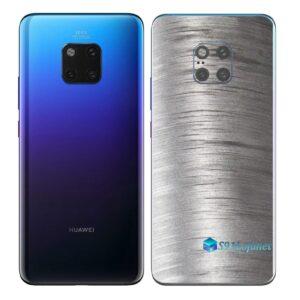 Huawei Mate 20 Pro Adesivo Skin Película Metal Escovado