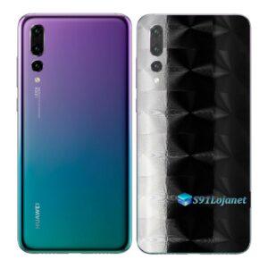 Huawei P20 PRO Adesivo Skin Película FX Dimension Black