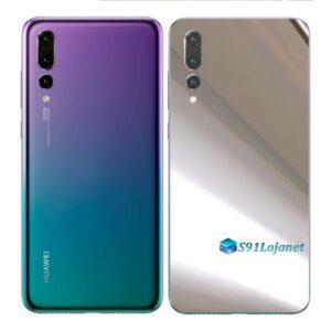 Huawei P20 PRO Adesivo Skin Película FX Metal Cromo