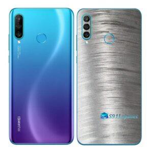 Huawei P30 Adesivo Skin Película Traseira Metal Escovado