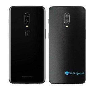 OnePlus 6T Adesivo Skin Película Traseira FX Deep Black