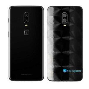 OnePlus 6T Adesivo Skin Película Traseira FX Dimension Black