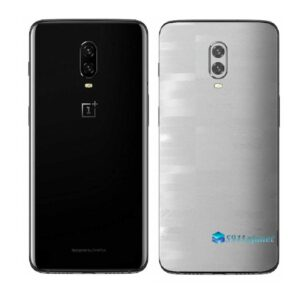 OnePlus 6T Adesivo Skin Película Traseira FX Pixel Branco