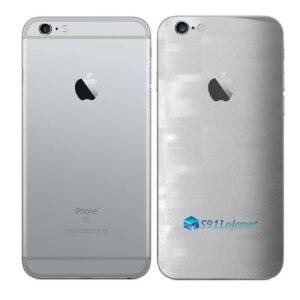 iPhone 6s Adesivo Skin Película Traseira FX Pixel Branco