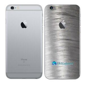 iPhone 6s Adesivo Skin Película Traseira Metal Escovado