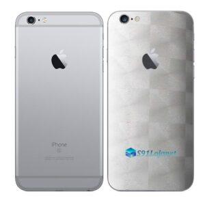 iPhone 6s Plus Adesivo Skin Película Traseira FX Dimension Branco
