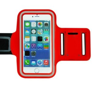 Armband Suporte Abraçadeira Braço Universal Vermelho