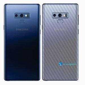 Galaxy Note9 Adesivo Skin Película Tras Carbono Transparente
