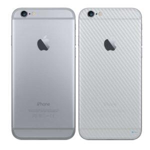 iPhone 6 Plus Adesivo Skin Película Traseira Fibra Transparente