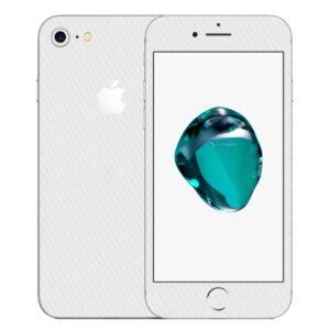 iPhone 7 Apple Adesivo Skin Película Fibra Branco