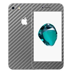 iPhone 7 Apple Adesivo Skin Película Fibra Cinza