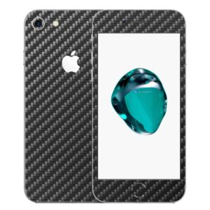 iPhone 7 Apple Adesivo Skin Película Fibra Preto
