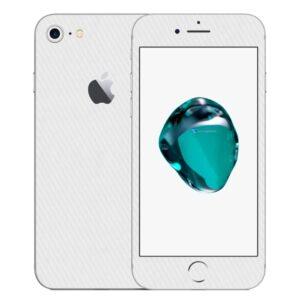 iPhone 8 Apple Adesivo Skin Película Fibra Branco