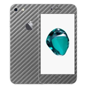 iPhone 8 Apple Adesivo Skin Película Fibra Cinza