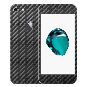 iPhone 8 Apple Adesivo Skin Película Fibra Preto