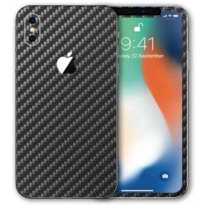 iPhone X Apple Adesivo Skin Película Fibra Preto
