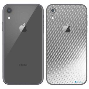 iPhone XR Apple Adesivo Skin Película Fibra Cromo