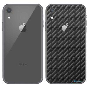 iPhone XR Apple Adesivo Skin Película Fibra Preto