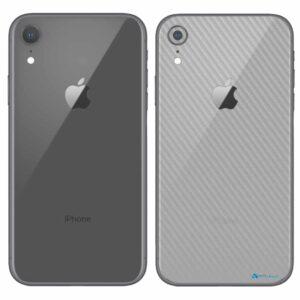 iPhone XR Apple Adesivo Skin Película Fibra Transparente