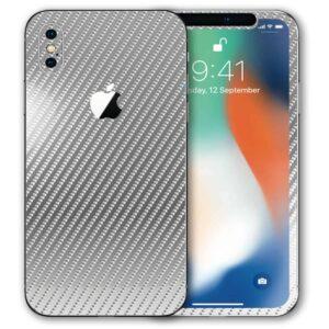 iPhone XS Max Apple Adesivo Skin Película Fibra Cromo