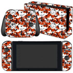 Adesivo Skin Película Nintendo Swicht Camo Red
