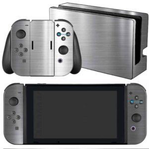 Adesivo Skin Película Nintendo Swicht Cromo Escovado