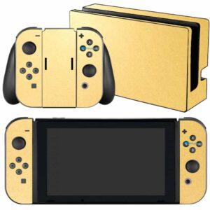 Adesivo Skin Película Nintendo Swicht Metalico Brilho Gold