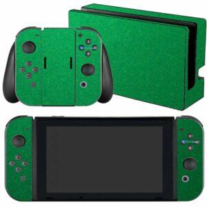 Adesivo Skin Película Nintendo Swicht Metalico Brilho Verde