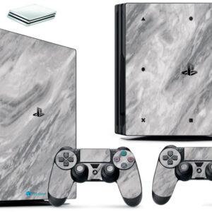 Adesivo Skin Playstation 4 PS4 Pro Pelicula Marmore Carrara