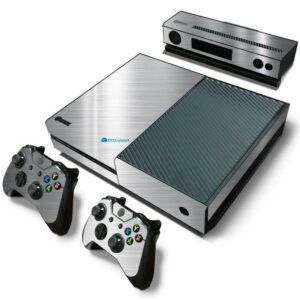 Adesivo Skin Xbox One Fat Pelicula Cromo Escovado