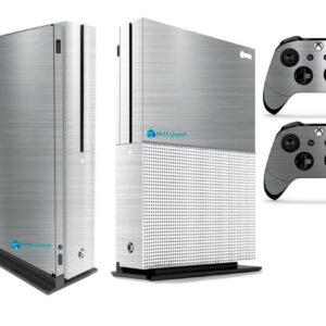 Adesivo Skin Xbox One S Pelicula Cromo Escovado