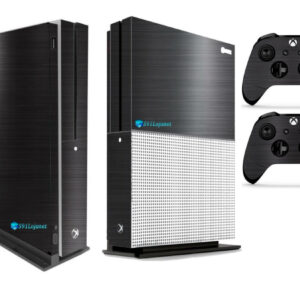 Adesivo Skin Xbox One S Pelicula Dark Escovado