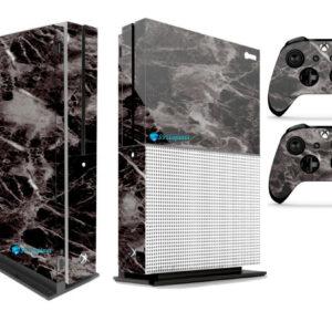Adesivo Skin Xbox One S Pelicula Marmore Nero